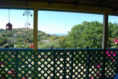 Balcony view in vieques puerto rico for Hotel casita amarilla