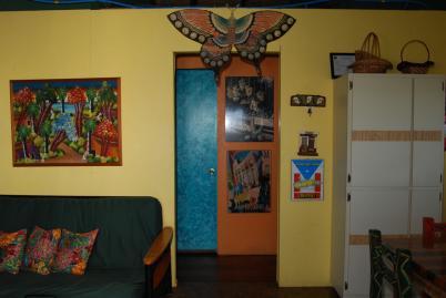 Inside space for Hotel casita amarilla